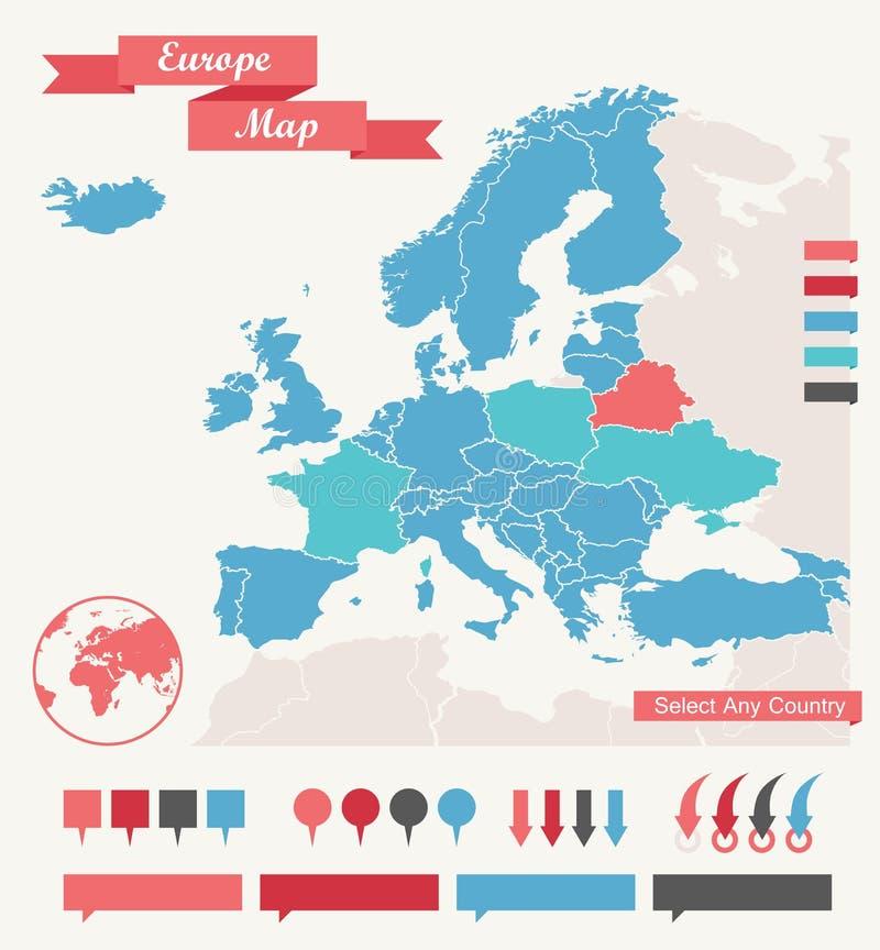 Infographic beståndsdelar royaltyfri illustrationer