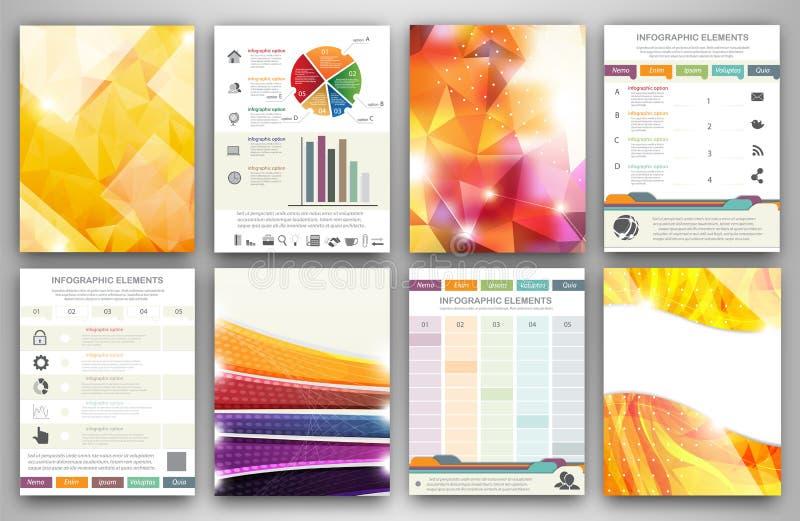 Infographic Brochure Templates Stock Vector Illustration Of Idea - Infographic brochure template