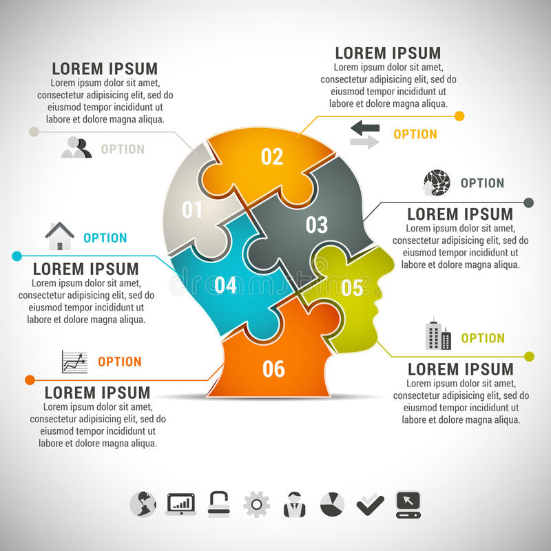 Infographic royalty free illustration