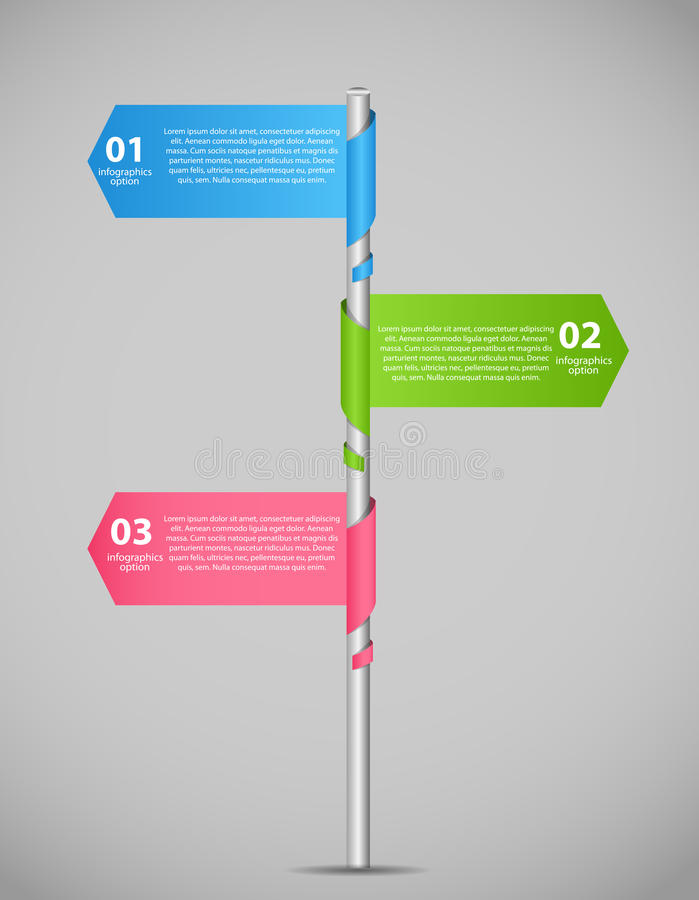Infographic business template vector illustration. This is file of EPS10 format royalty free stock photography