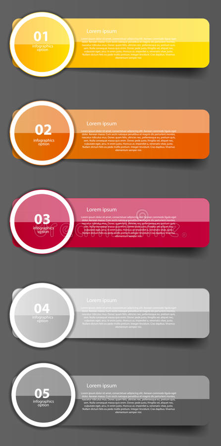 Infographic business template vector illustration royalty free illustration