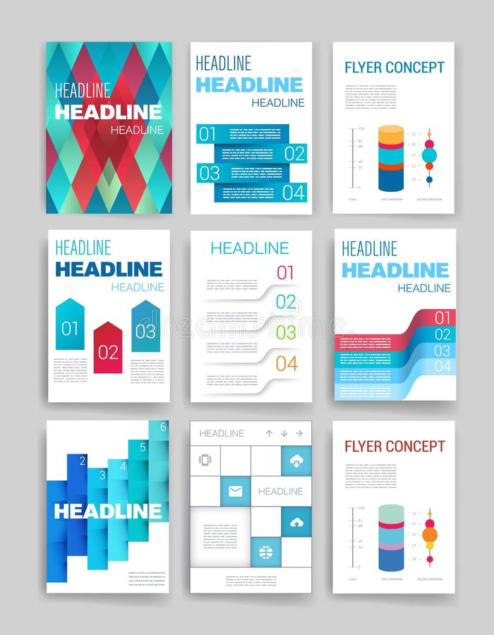 Infographic Chart And Process Templates. Design Stock Vector ...