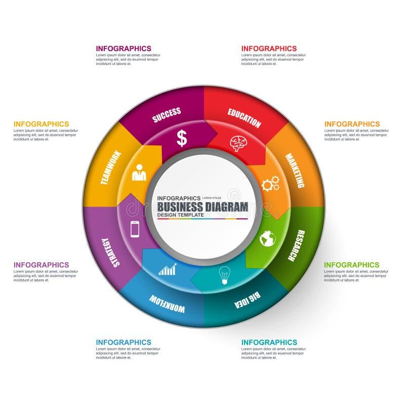 Infographic circular diagram vector design template stock vector download infographic circular diagram vector design template stock vector illustration of illustration infographics flashek Images