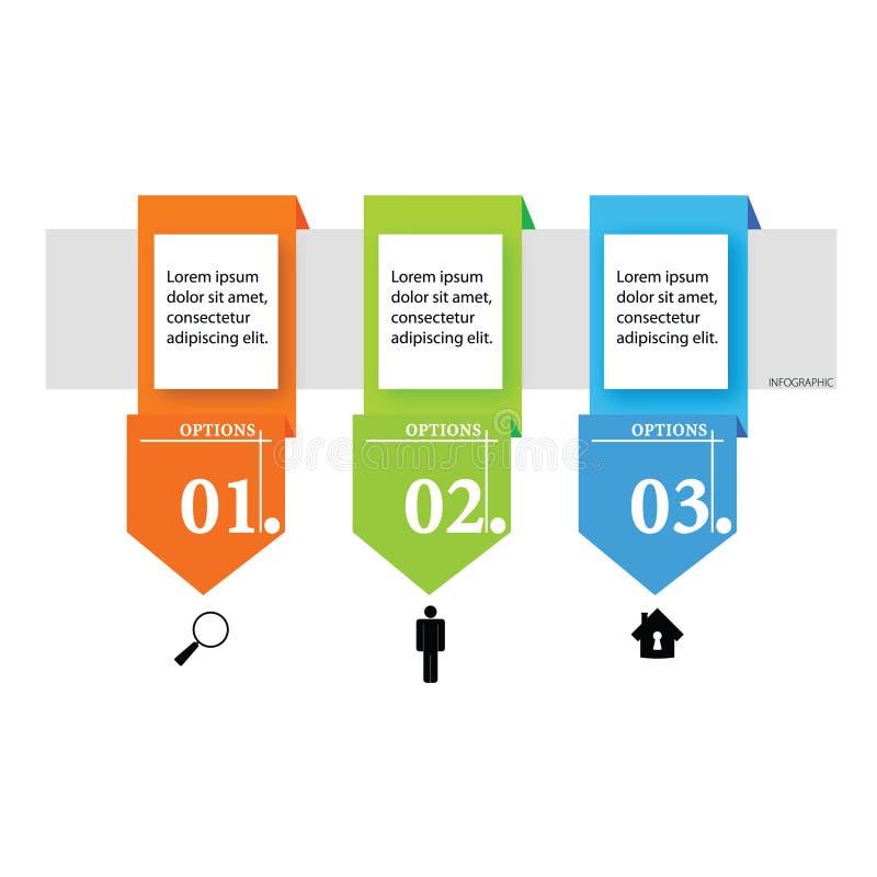 Infographic com ilustração do ícone ilustração do vetor