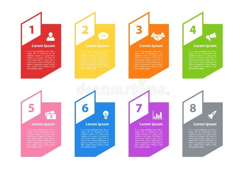 Infographic design business concept vector illustration stock illustration