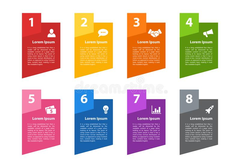 Infographic design business conceptInfographic design business concept with 8 steps. Infographic design business concept vector illustration with 8 steps or vector illustration
