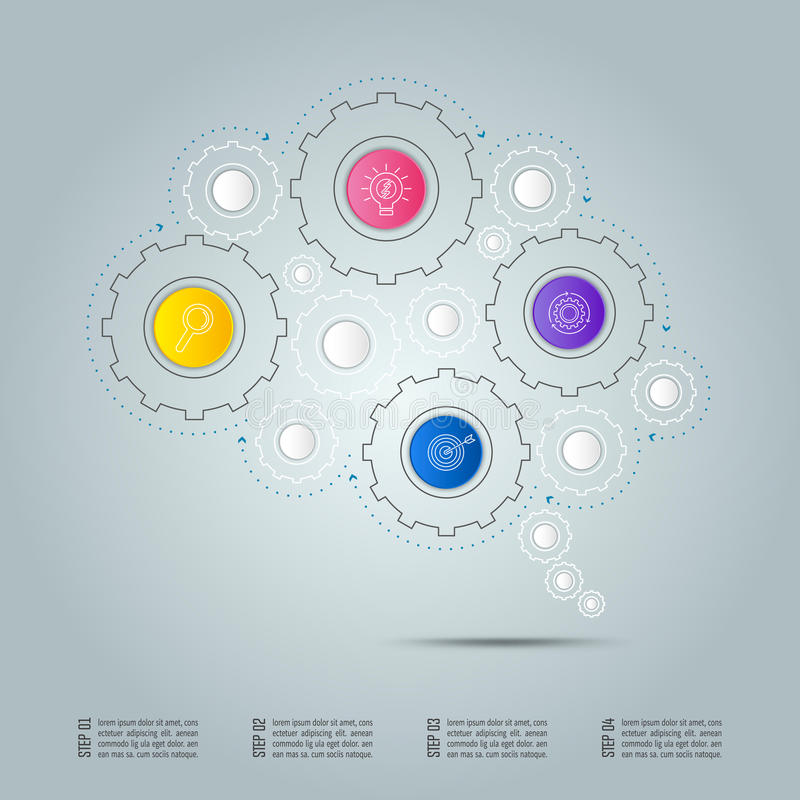 infographic design business connection concept in form of brain rh dreamstime com Subwoofer Connection Diagram Wiring- Diagram