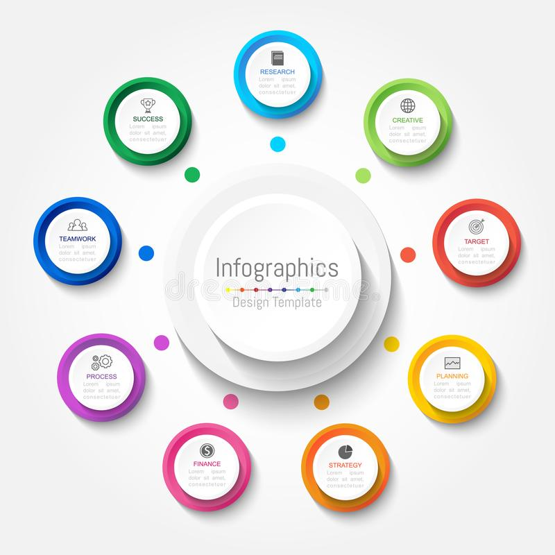 Free Infographic Design Elements For Your Business Data With 3 Options Royalty Free Stock Image - 103659816