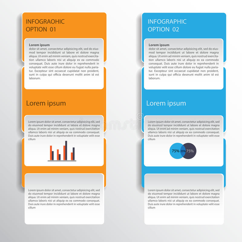 Infographic design on the grey background. Eps 10 vector file. royalty free illustration