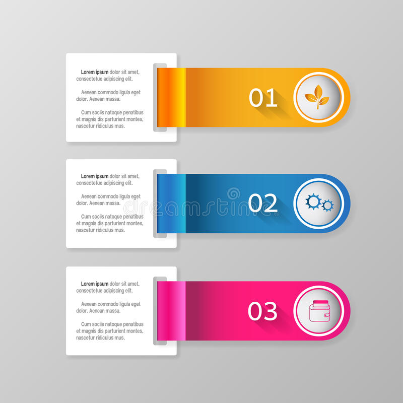 Modern infographics business design options banner.Vector illustration. Infographic design template and marketing icons, Business concept with 6 options.Vector stock illustration