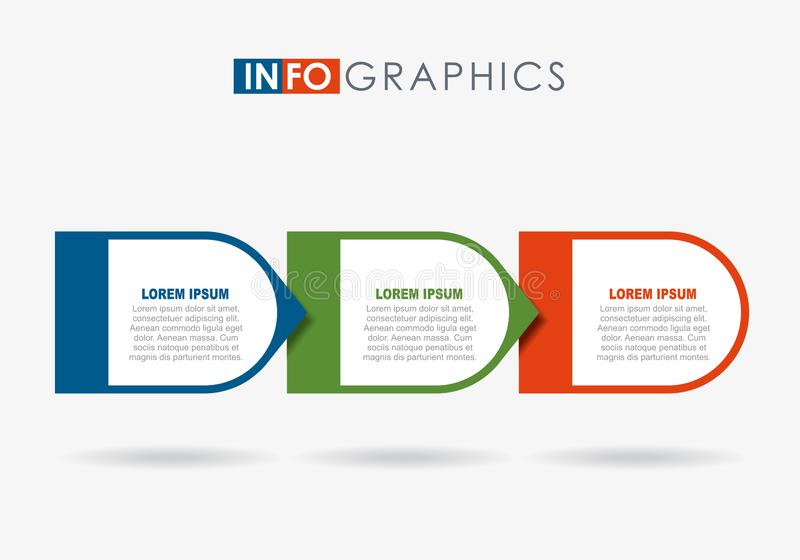 Infographic design template with place for your data. Vector illustration. Infographic design template with place for your text. Vector illustration vector illustration