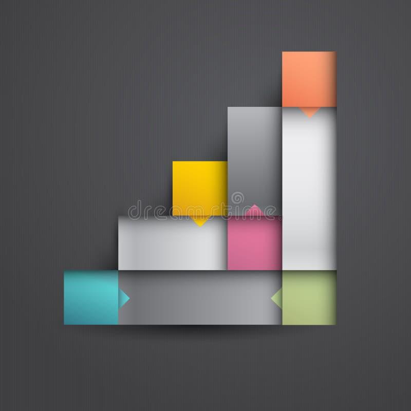 Infographic design royalty free illustration