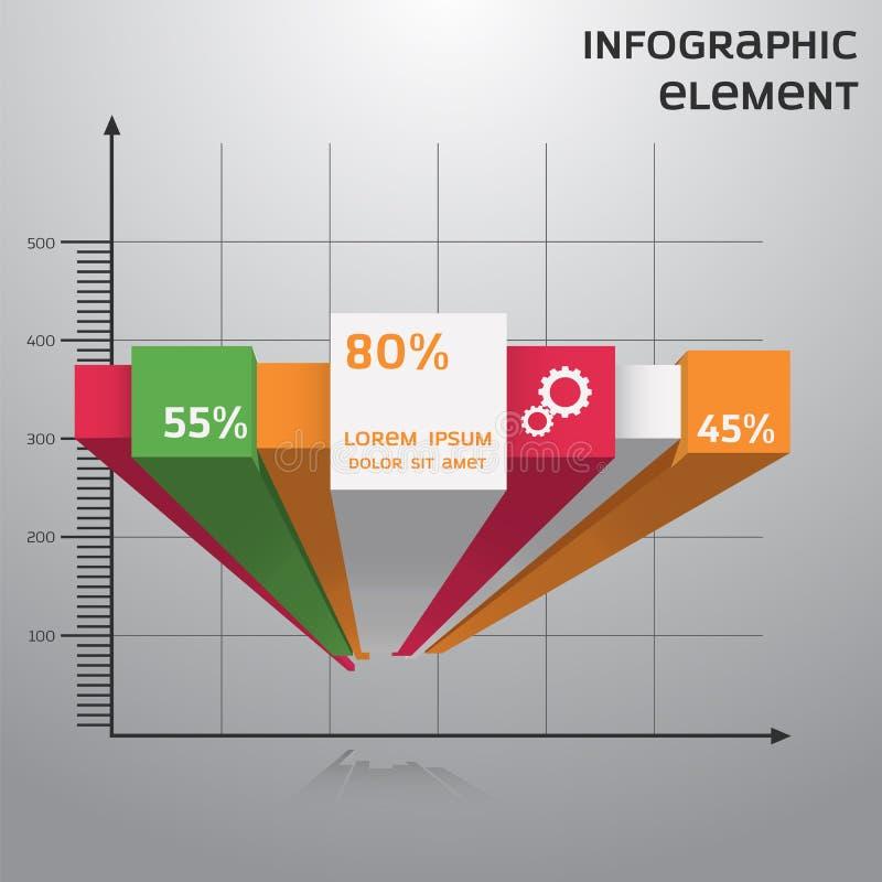 Infographic & diagram royaltyfri bild