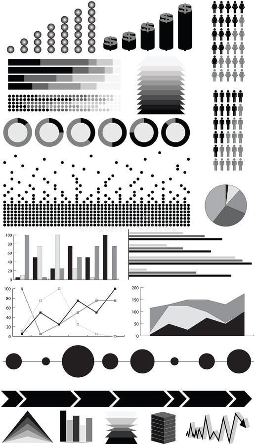 infographic element vektor illustrationer