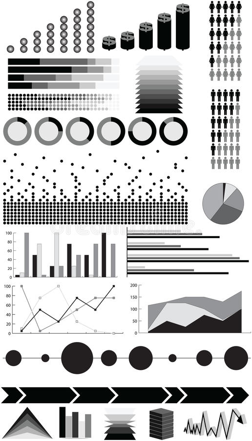 Infographic elements vector illustration