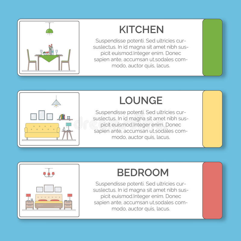 Kitchen Layout Templates 6 Different Designs: Infographic Elements Of Interior Design. Kitchen, Lounge