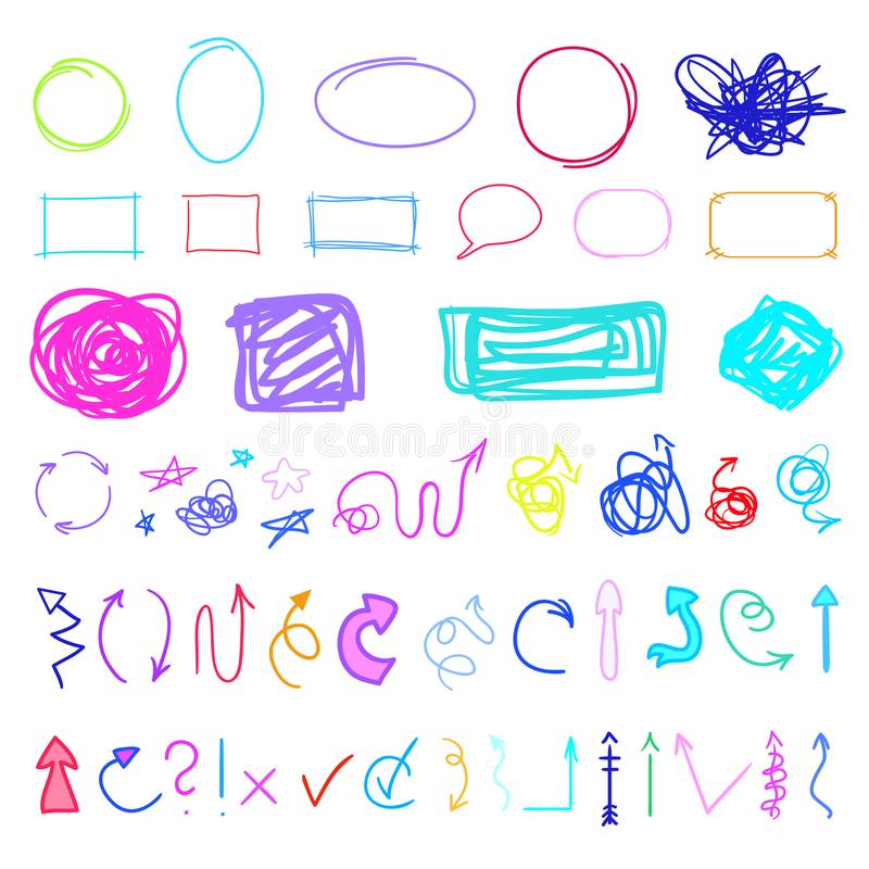 Illustration. Art creation vector illustration