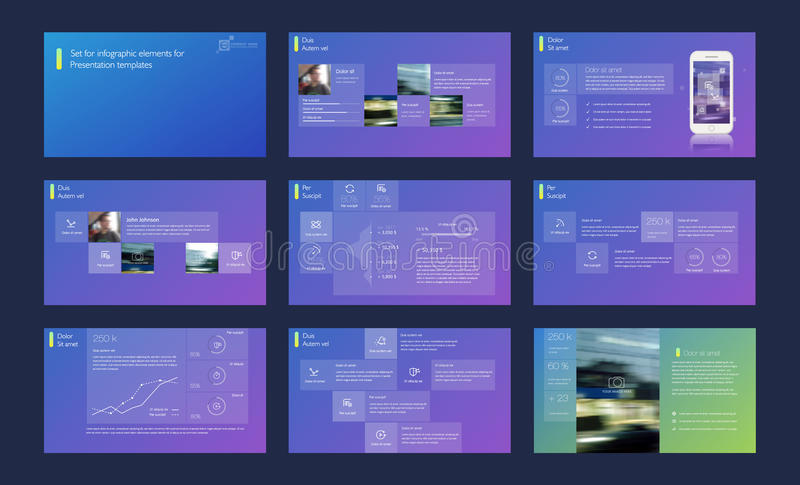 Powerpoint presentation template background. Use in presentation templates, flyer and leaflet, corporate report, marketing, advertising, annual report and royalty free illustration