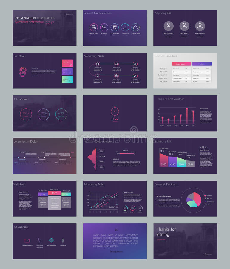 Powerpoint presentation template background. Use in presentation templates, flyer and leaflet, corporate report, marketing, advertising, annual report and vector illustration