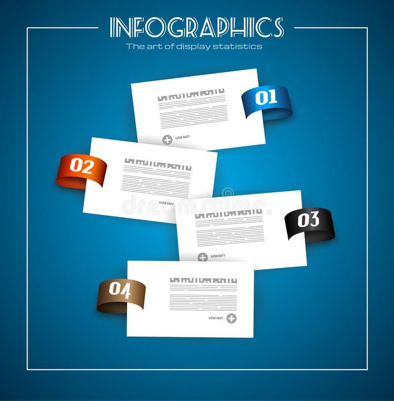 Infographic-Entwurf für Produktklassifizierung vektor abbildung