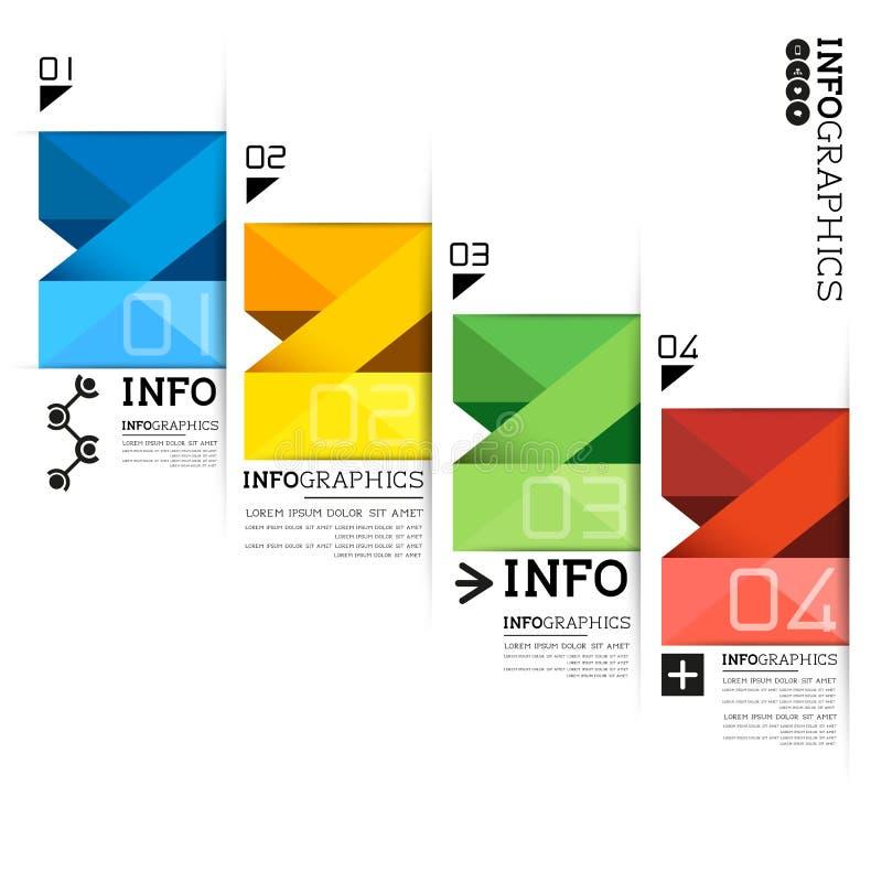 Infographic etykietki wektory ilustracja wektor