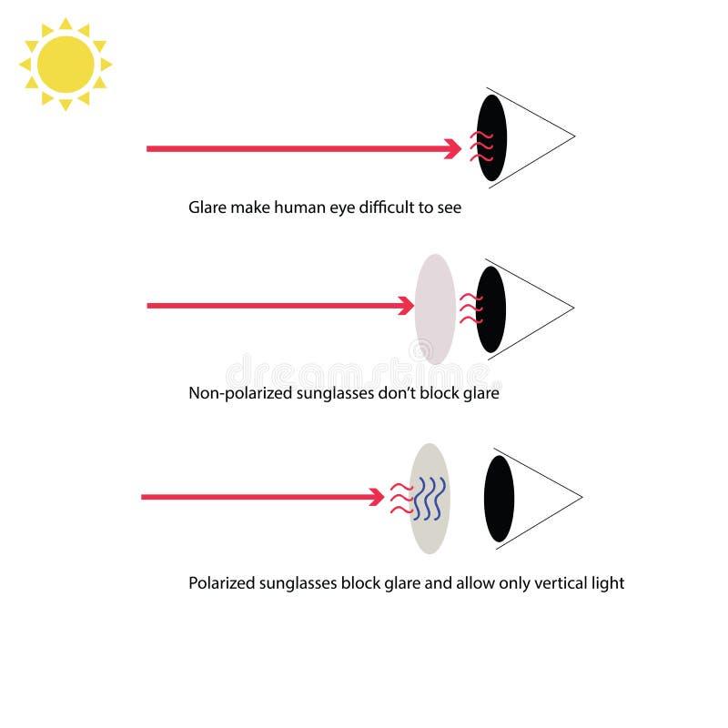 Infographic för skydd från risken av skadligt extremt UV vektor illustrationer