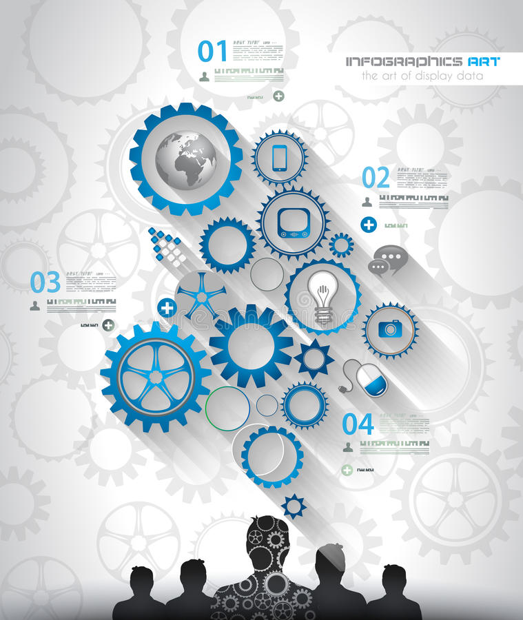 Infographic för socialt massmedia- och molnbegrepp bakgrund vektor illustrationer