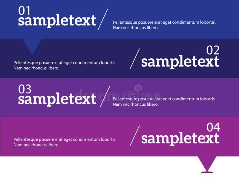 infographic i lager separat vektor för elementmapp royaltyfri illustrationer
