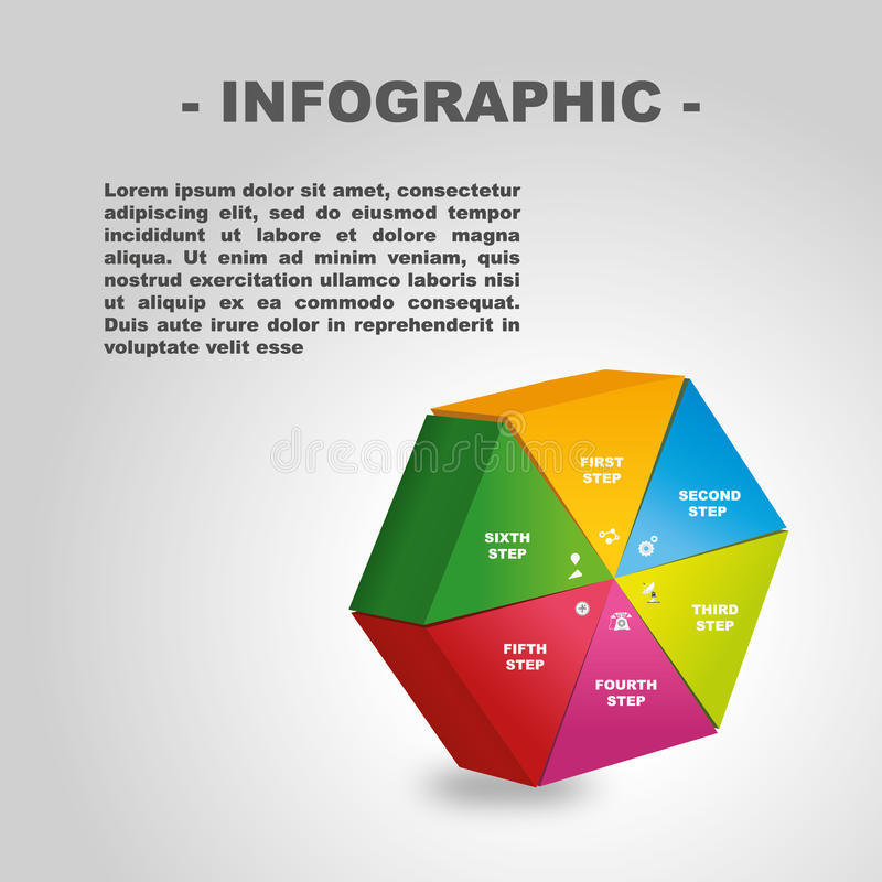 Infographic illustrations. Easy to use and edited vector illustration