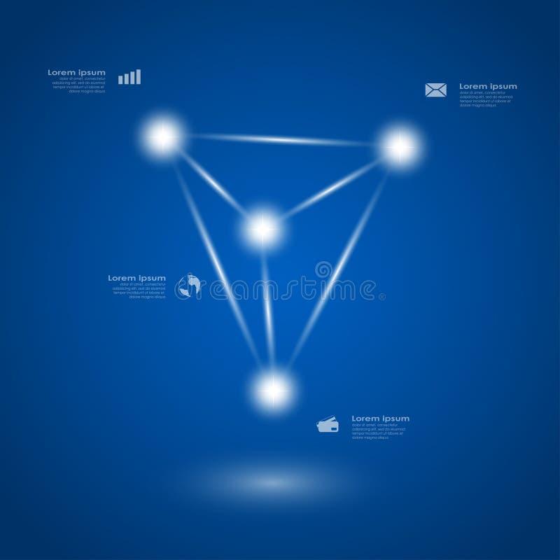 Download Infographic mall vektor illustrationer. Illustration av avstånd - 37348990
