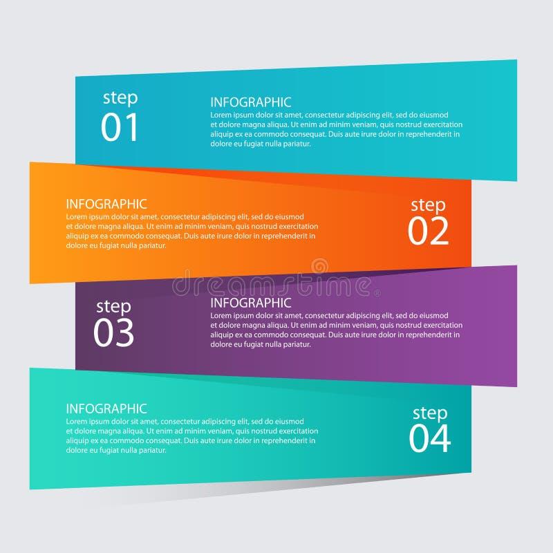 Infographic mallar för affär Infographics statistikvect stock illustrationer