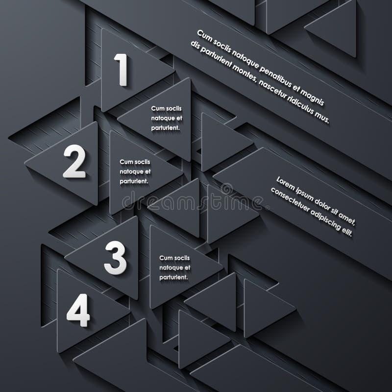 Infographic moderno libre illustration