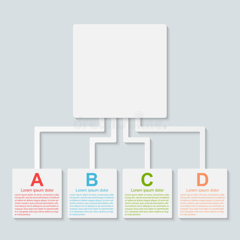 Infographic moderno. Elementos do projeto. ilustração do vetor
