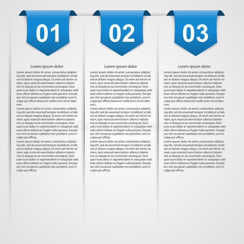 infographic modernt bakgrundsdesignelement fyra vita snowflakes vektor illustrationer