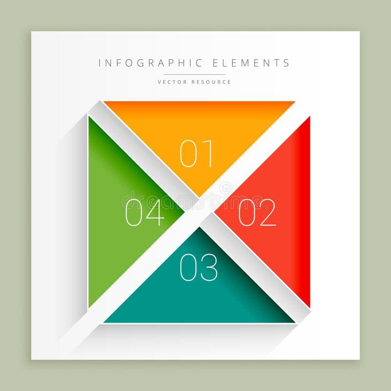 Infographic moment stock illustrationer