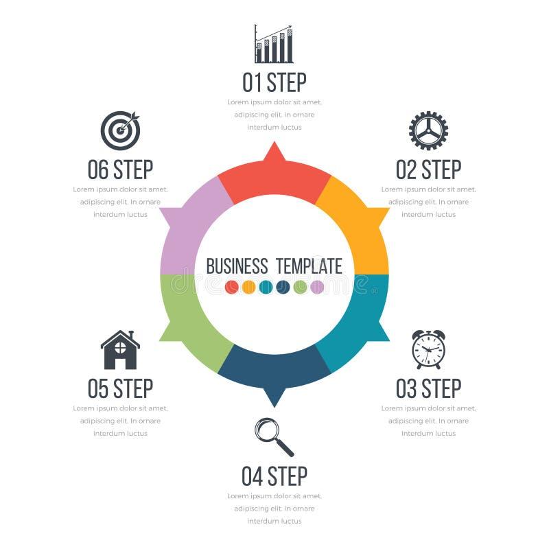 Infographic projekt z barwionym ilustracji