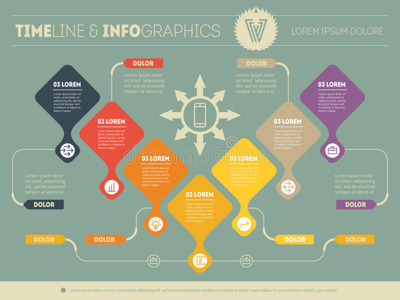 Infographic of purchase funnel. Vector presentation of business. Processes or sales funnel. Business plan. Abstract Web Template of a pyramidal chart, sales stock illustration