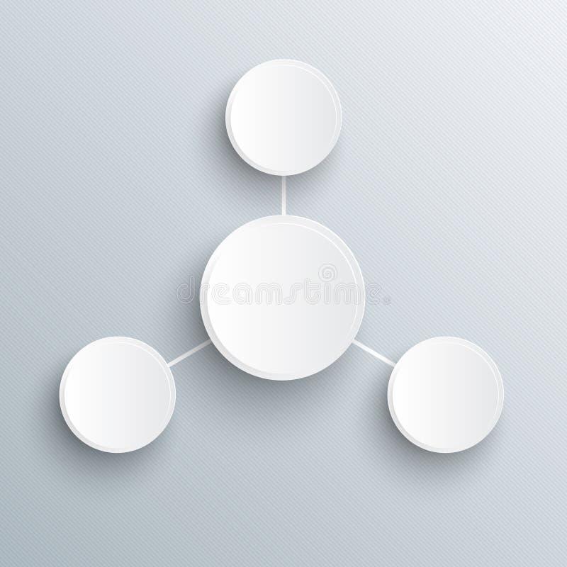Infographic-Schablone. vektor abbildung