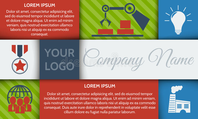 Infographic step by step brochure template or site banner with integrated icons. vector illustration