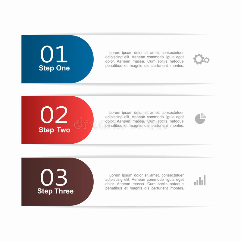 Infographic Szablon może używać dla obieg układu, diagram, biznesowe krok opcje, sztandar, sieć projekt ilustracja wektor