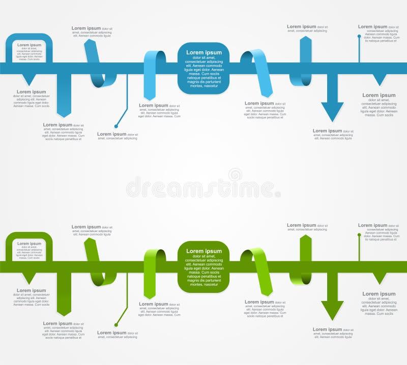 Infographic szablony dla biznesowego projekta wektor ilustracja wektor