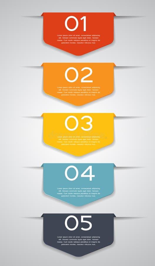 Infographic szablony dla Biznesowego wektoru royalty ilustracja