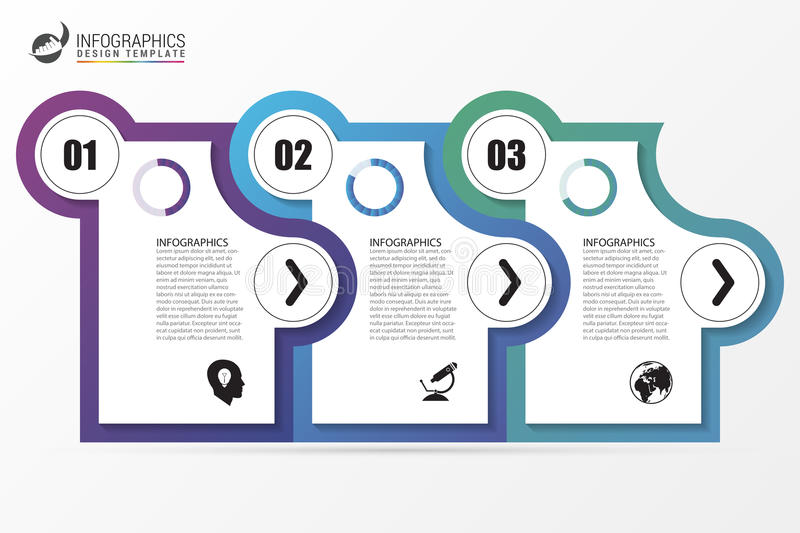 Infographic template business concept with 3 steps vector stock download infographic template business concept with 3 steps vector stock vector illustration of accmission Images