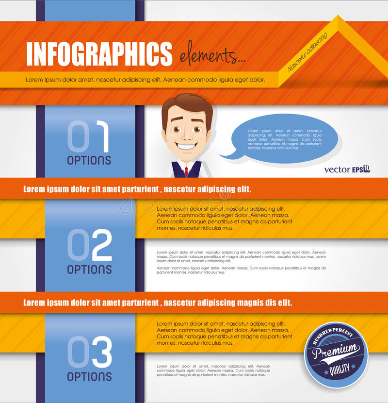 Download Infographic Template Design Stock Vector - Image: 32376194