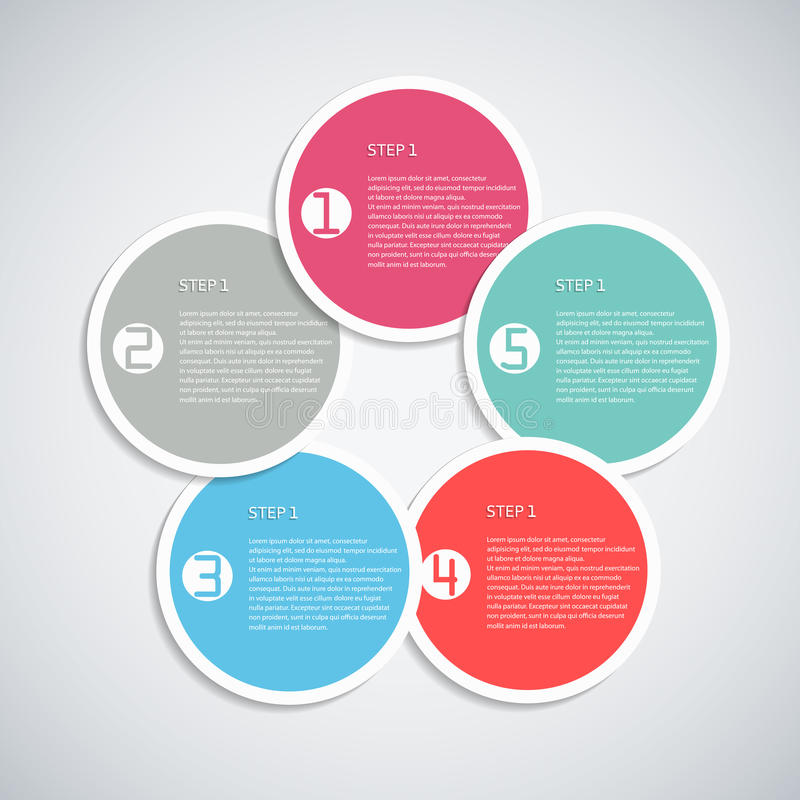 Download Infographic template stock vector. Illustration of design - 32004861