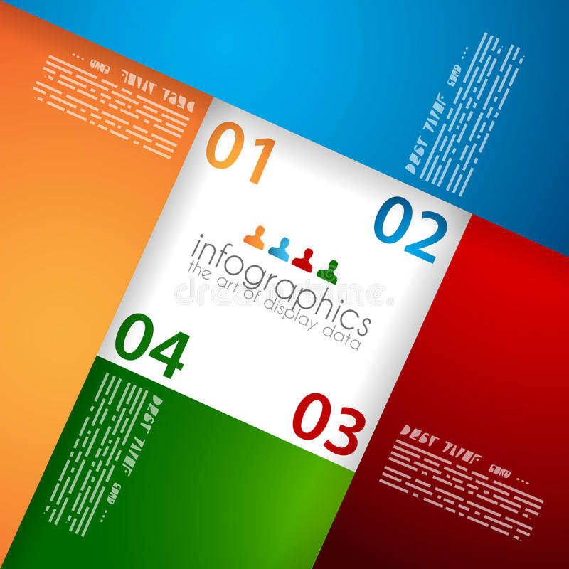Download Infographic Template For Statistic Data Visualizat Stock Vector - Image: 29886707