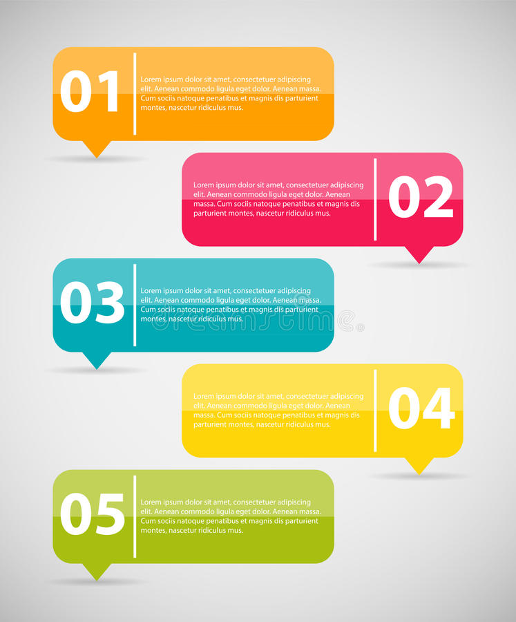 Free Infographic Templates For Business Vector Illustration. Royalty Free Stock Image - 40650796
