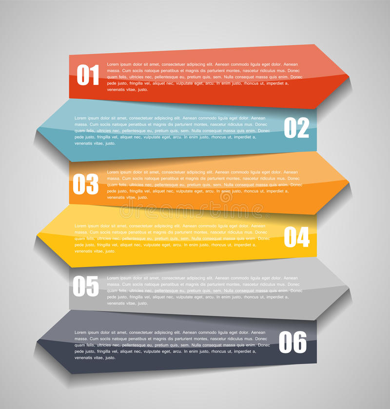 Free Infographic Templates For Business Vector Illustration. Stock Photo - 40726390