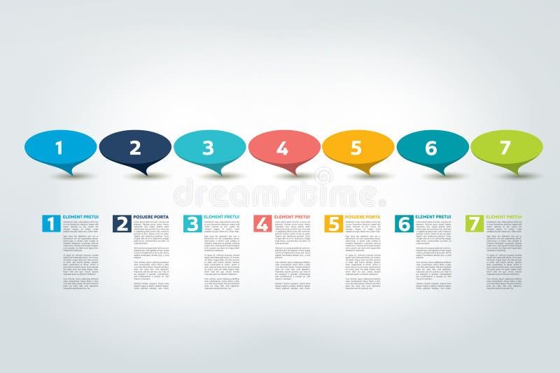 Infographic timeline report, template, chart, scheme. Infographic timeline report, template, chart or scheme. Vector vector illustration