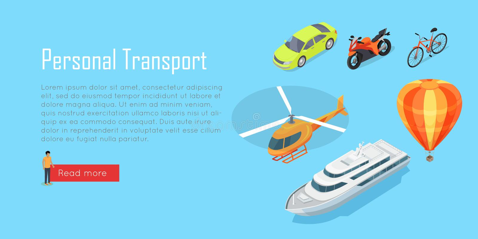 Infographic transport offentlig transport vektor stock illustrationer